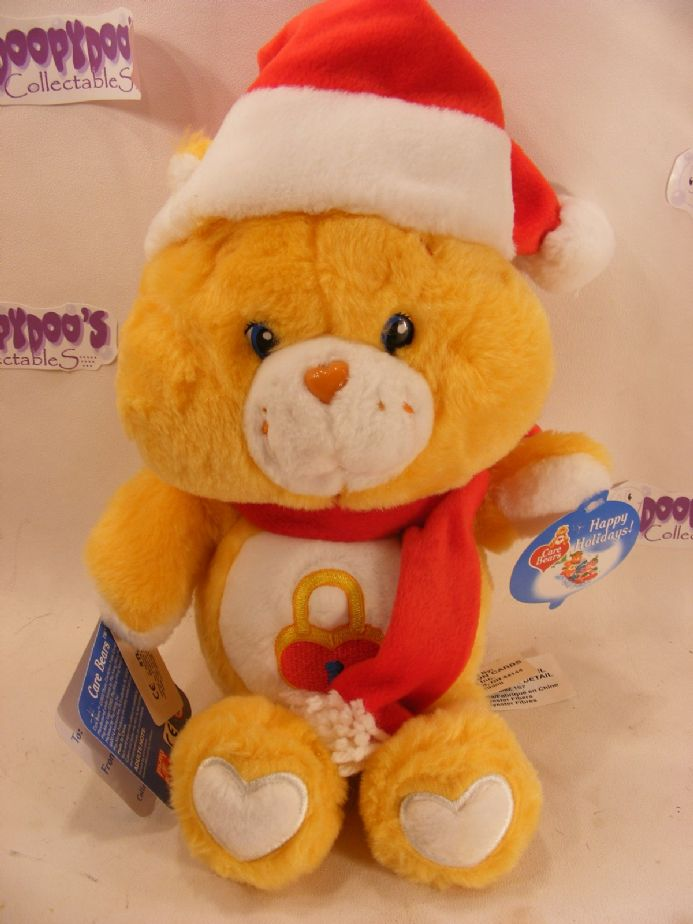 "BNWT 12"" CHRISTMAS SECRET CAREBEAR CARE BEARS"